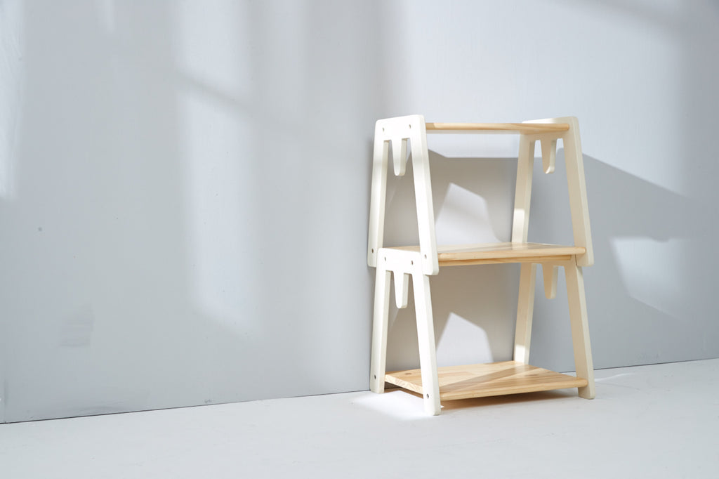 Wooden Stackable Shelf 創意堆疊櫃 x 2