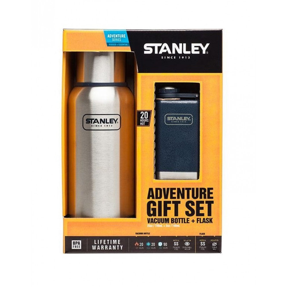 Stanley-Adventure Vacuum Bottle+ Flask Gift Set *Clearance*