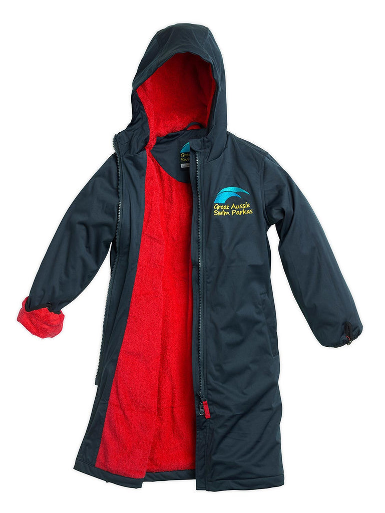 Great Aussie Swim Parka - Adult (Red)
