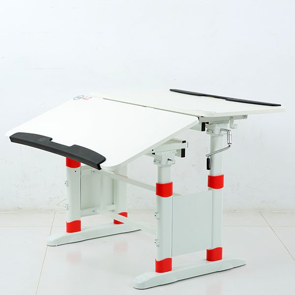 DR First-T9 Desk Set (100*50cm) - White