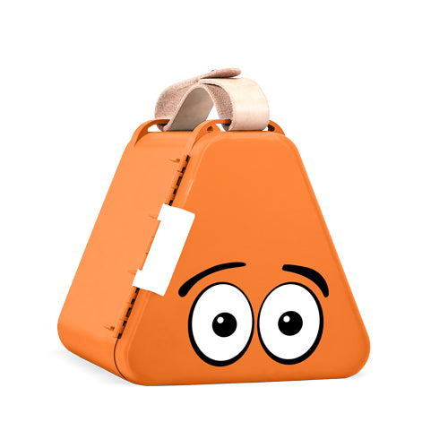 TeeBee Travel Toy Box - Orange