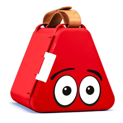TeeBee Travel Toy Box - Red