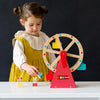 Petit Collage-Carnival Play Set Wooden Ferris Wheel