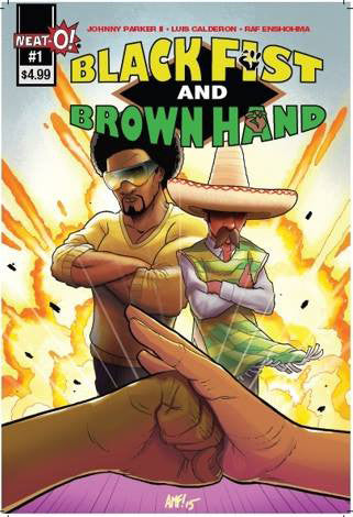 Black Fist & Brown Hand #1 - Cover