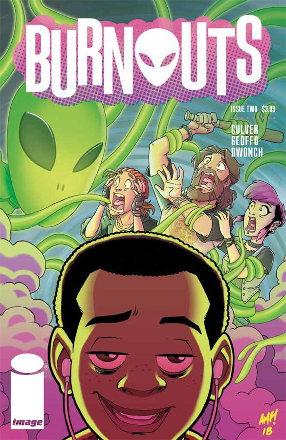 Burnouts #2 - Cover