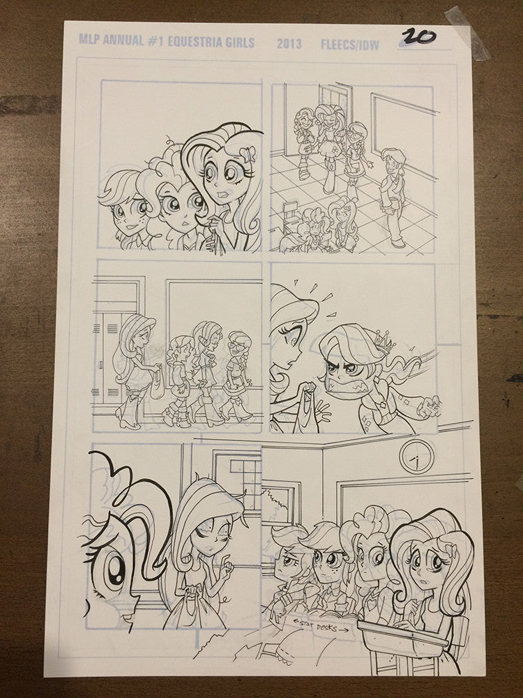 Equestria Girls Annual #1 - PG 20