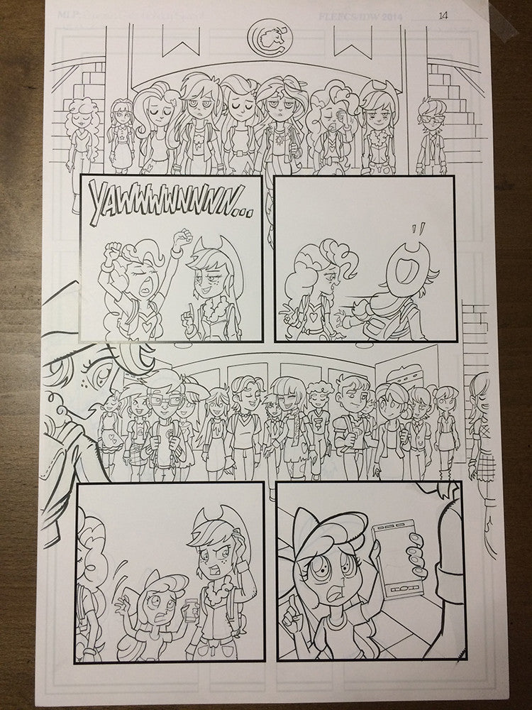 Equestria Girls Holiday Special - PG 14