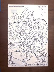 MLP Feats of Friendship #3 - Cover