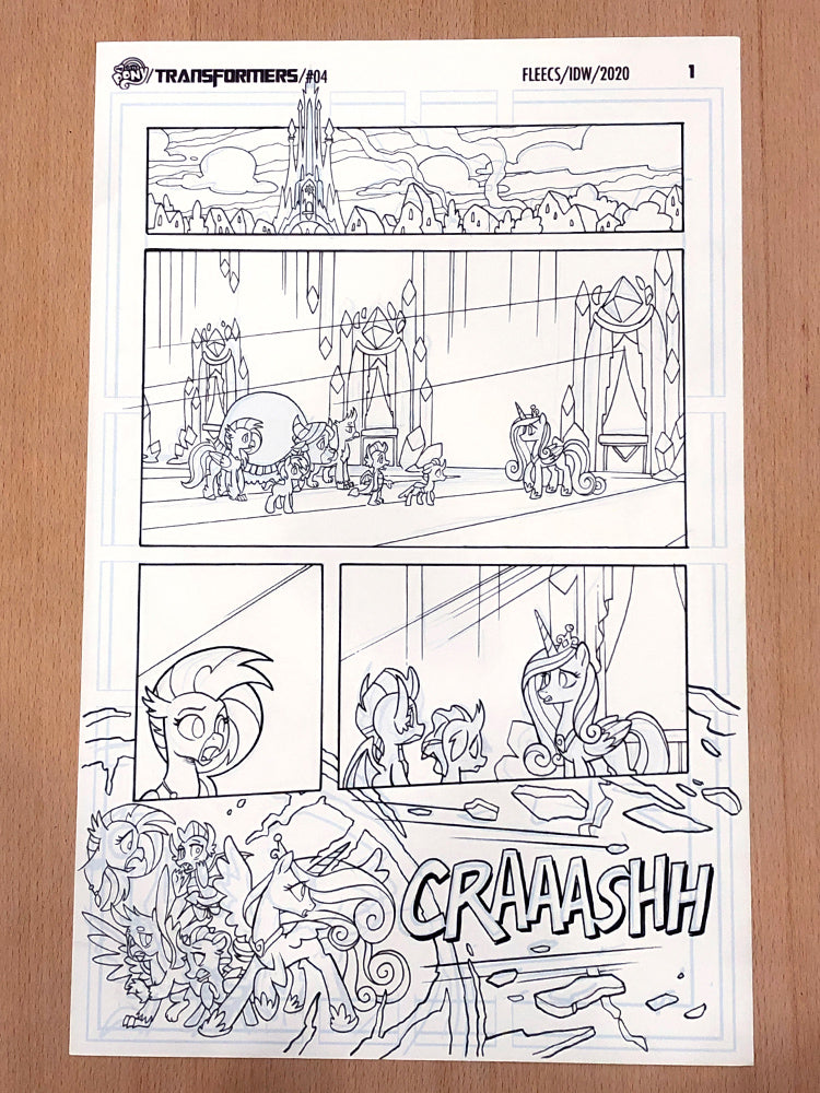 My Little Pony / Transformers #4 - PG 1