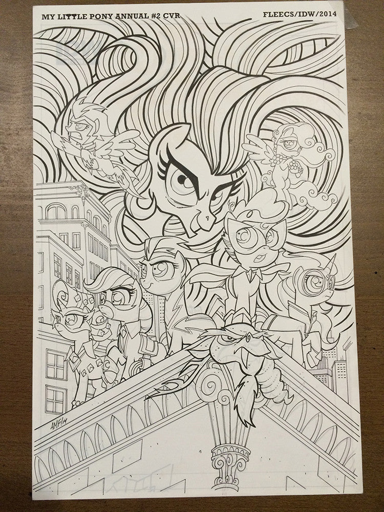 MLP Annual #2 - Cover