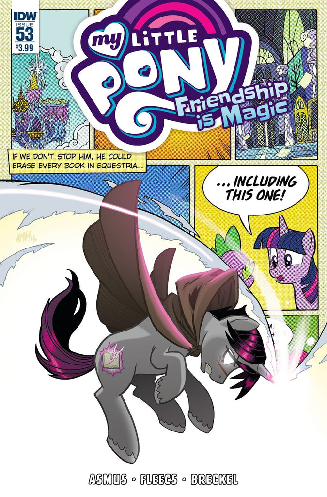 Friendship is Magic #53 - Cover