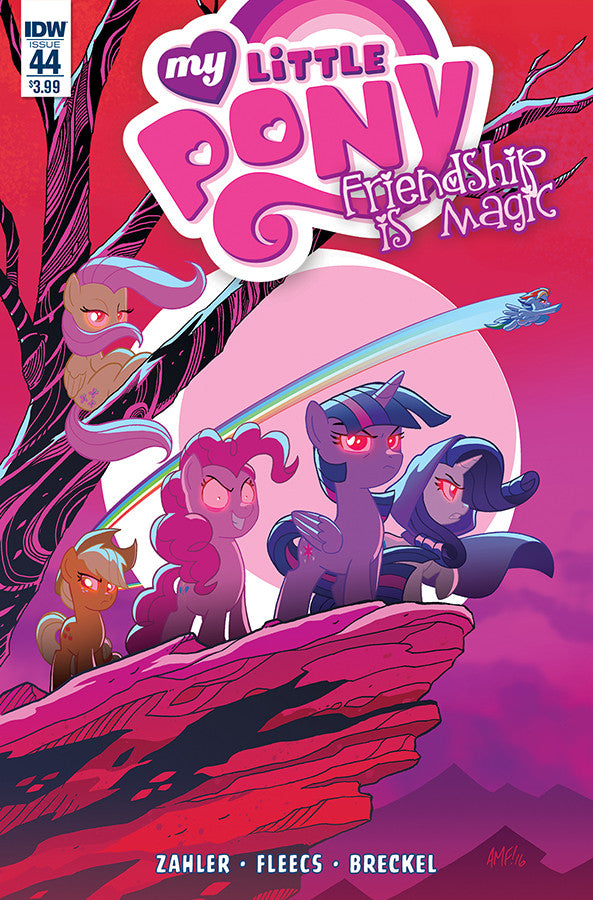 Friendship is Magic #44 - Cover