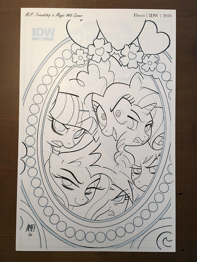 Friendship is Magic #45 - Cover