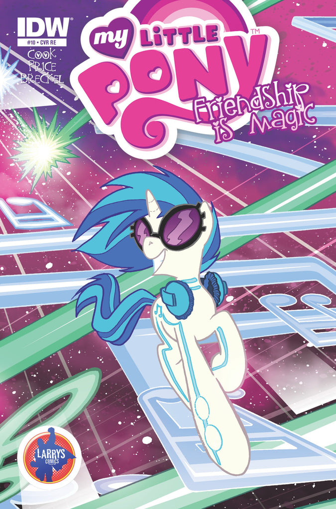 Friendship is Magic #10 - Larrys/Jetpack Exclusive Covers