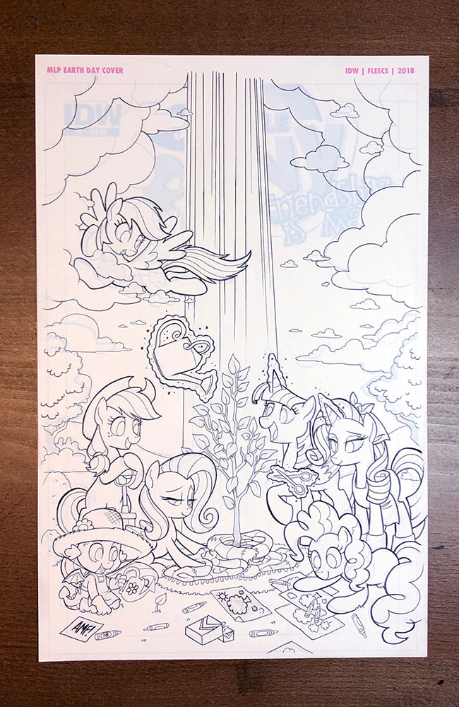 MLP Spirit of the Forest #01 - Cover