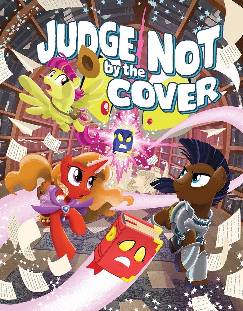 MLP Tails of Equestria: Judge Not by the Cover - Cover