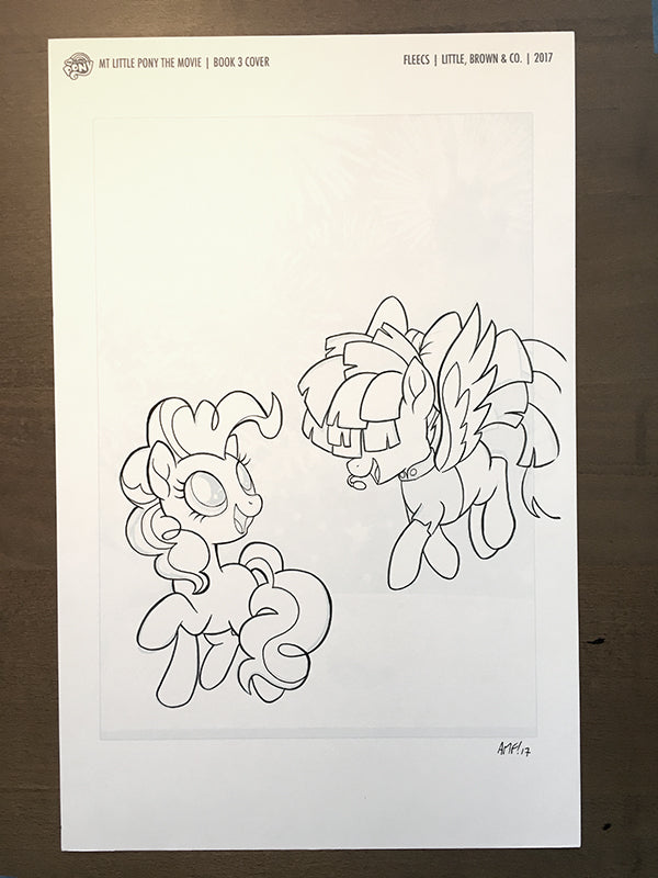 My Little Pony: The Movie Pinkie Pie Steps Up - Novel Cover