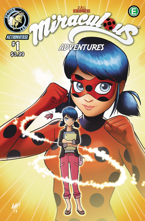 Miraculous Adventures #1 - Cover