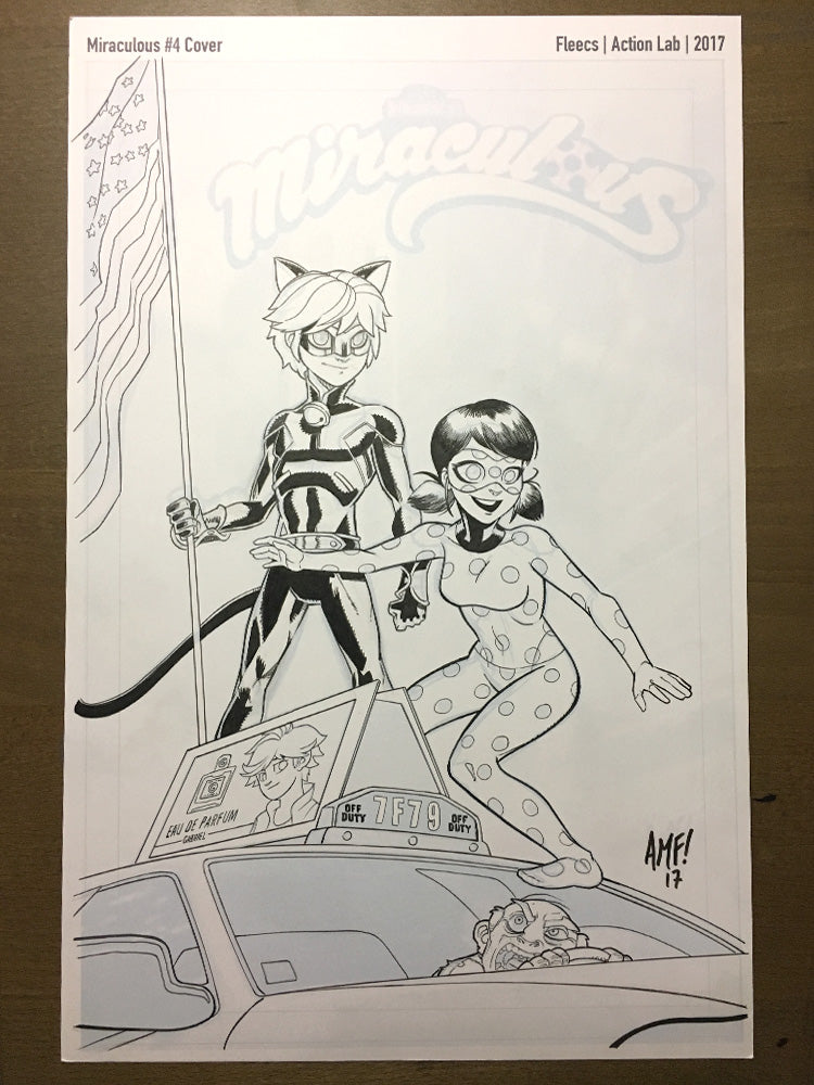 Miraculous Adventures #4 - Cover