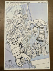 TMNT: Animated Adventures - SDCC Exclusive Cover