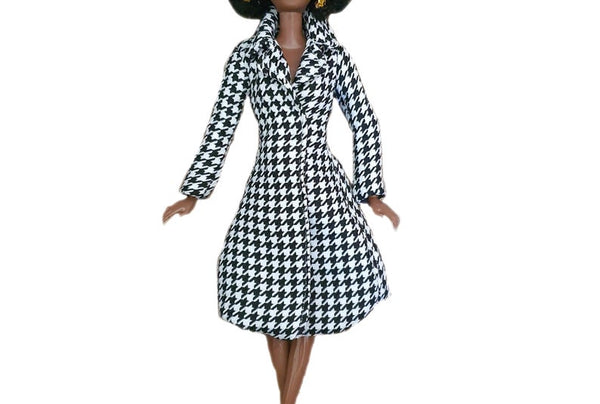 Fashion Coat for 11.5 Inch Doll