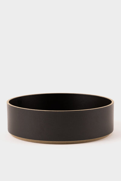 Hasami Porcelain Large Bowl Black