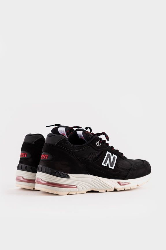 New Balance M991NKR Black Silver