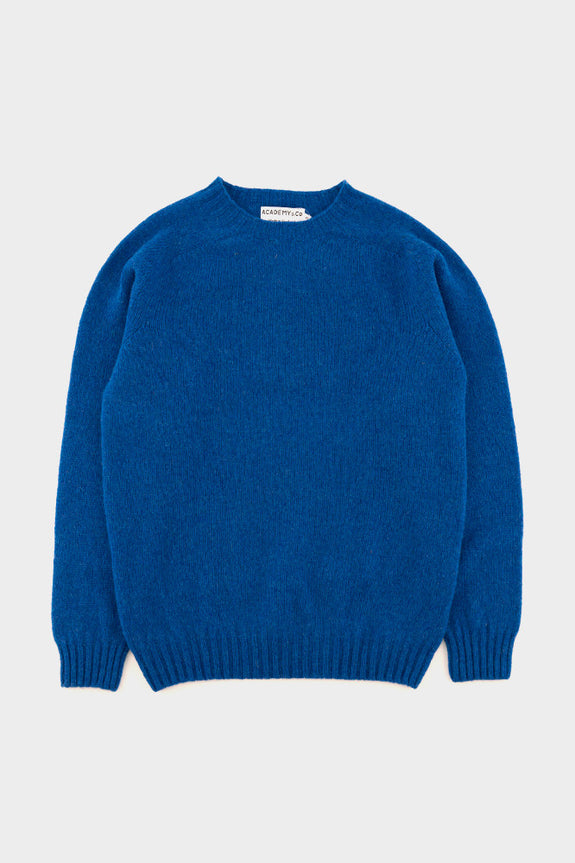 Academy & Co Wool Knit Sweater Blue -  - 1
