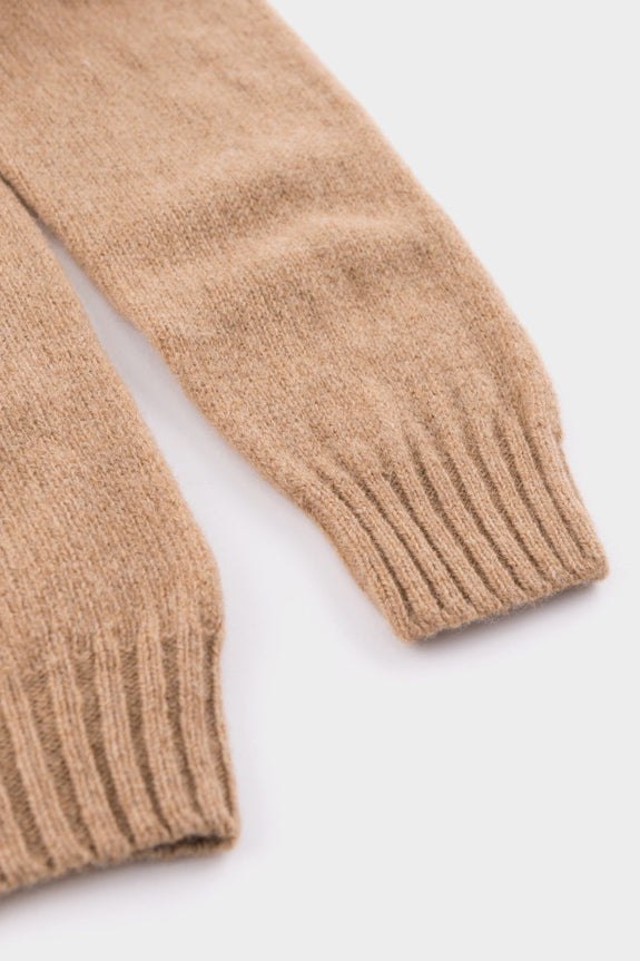 Academy & Co Wool Knit Sweater Cashew -  - 3