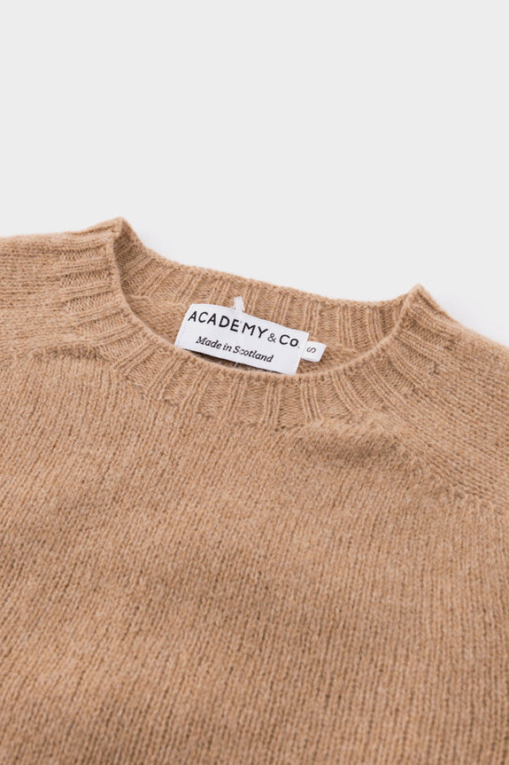 Academy & Co Wool Knit Sweater Cashew -  - 2