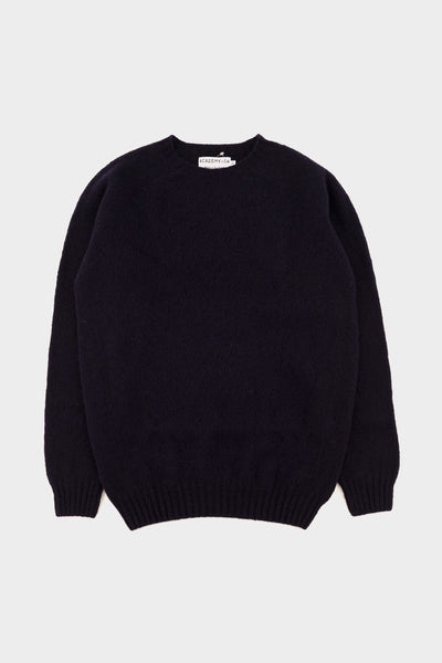 Academy & Co Wool Knit Sweater Navy -  - 1