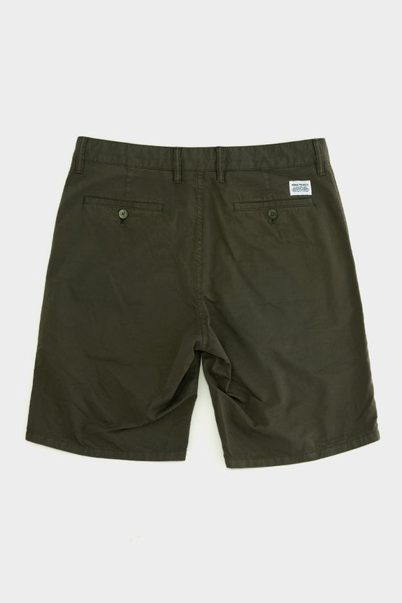 Norse Projects Aros Twill Shorts Olive