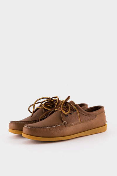 Quoddy Blucher Gum Grizzly Peanut