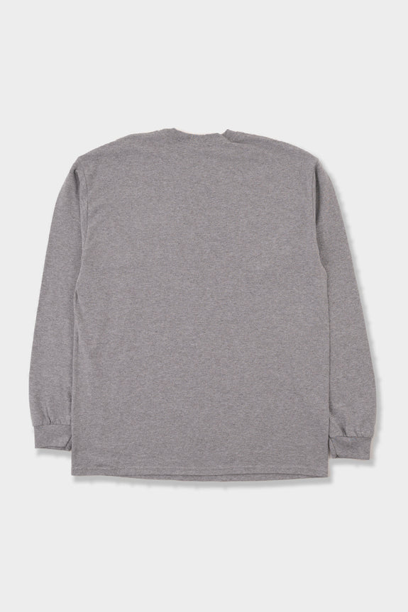 Manastash Colour Scheme Logo LS T-Shirt Heather Grey