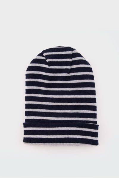 Dual Knitted Hat Blue Brain -