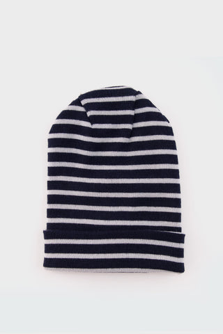 Dual Knitted Hat Blue Brain