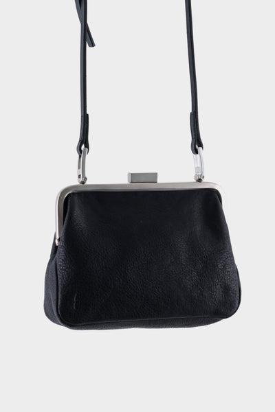 Ally Capellino Dusty Calvert Leather Mini Frame Bag - Black