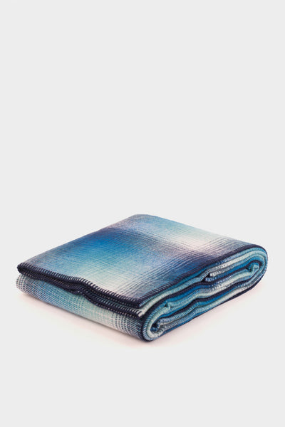 Pendleton Washable Eco-Wise Wool Blanket Blue -