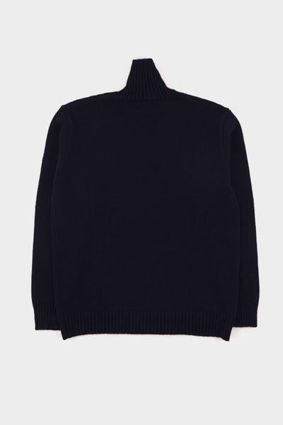 Country Of Origin Dark Navy Plain Funnel