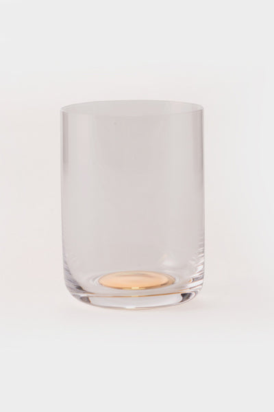 HAY Medium Gold Spot Glass -