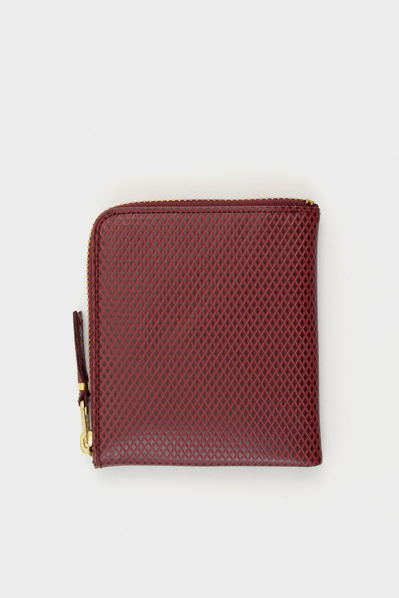 Zip Wallet Luxury Burgundy -  - 1