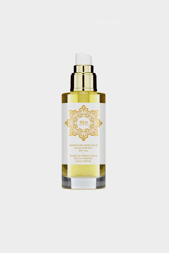 REN Moroccan Rose Gold Glow Perfect Dry Oil -