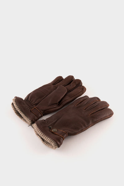 Hestra Nathan Leather Gloves Chestnut