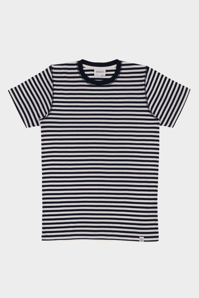 Norse Projects Niels Classic Stripe Dark Navy