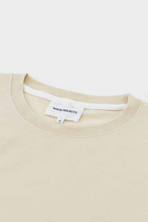 Norse Projects Niels Standard T Shirt- Sand