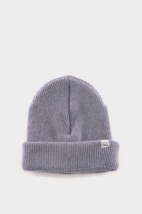 Norse Projects Beanie Marginal Blue