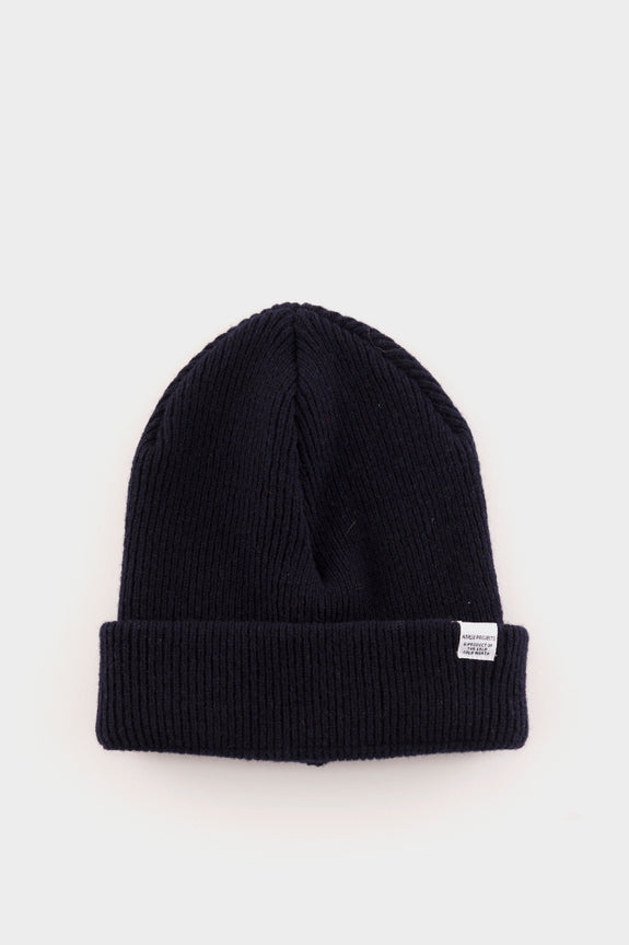 Norse Projects Beanie Navy – academyclothes 7debb4cdc3d