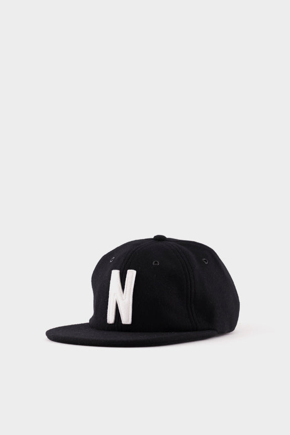 13a833f683 Norse Projects Wool Cap Black – academyclothes