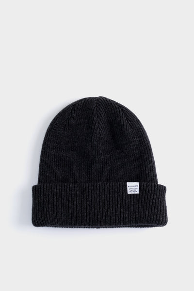 Norse Projects Beanie - Charcoal Melange