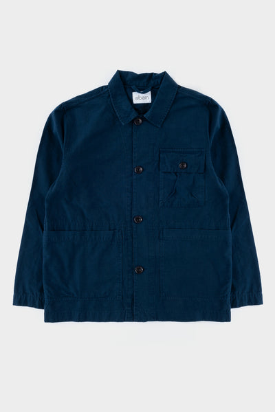 Albam GD Ripstop Rail Jacket Navy
